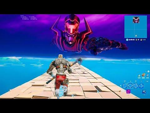 Haciendo skybase hasta Galactus 1 día antes del evento...