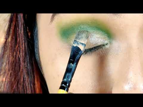 5 Minutes Deep Green Emrald  Eye Makeup Tutorial / GLAM YOUR FACE thumbnail