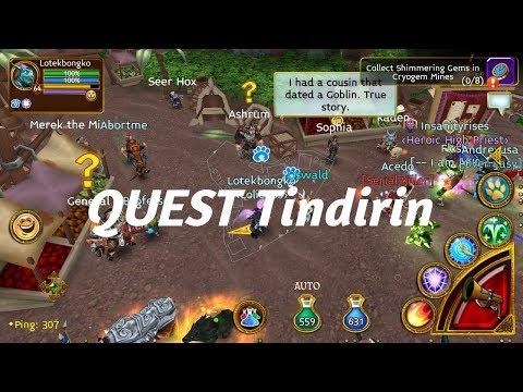Arcane Legends - QUEST IN TINDIRIN MAPS