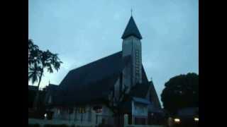 Lonceng Pagi Gereja HKBP P. Sidimpuan - Morning Bell at Lutheran Church in Padang Sidimpuan