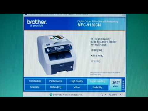 how to clear brother replace toner message mfc-9125cn