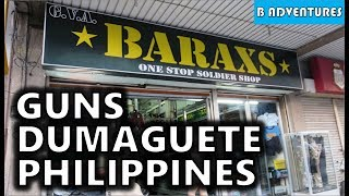 Philippines S2 Ep5: Dumaguete Local Gun Stores, Shooting Sports & Firearms, Negros, Travel Vlog