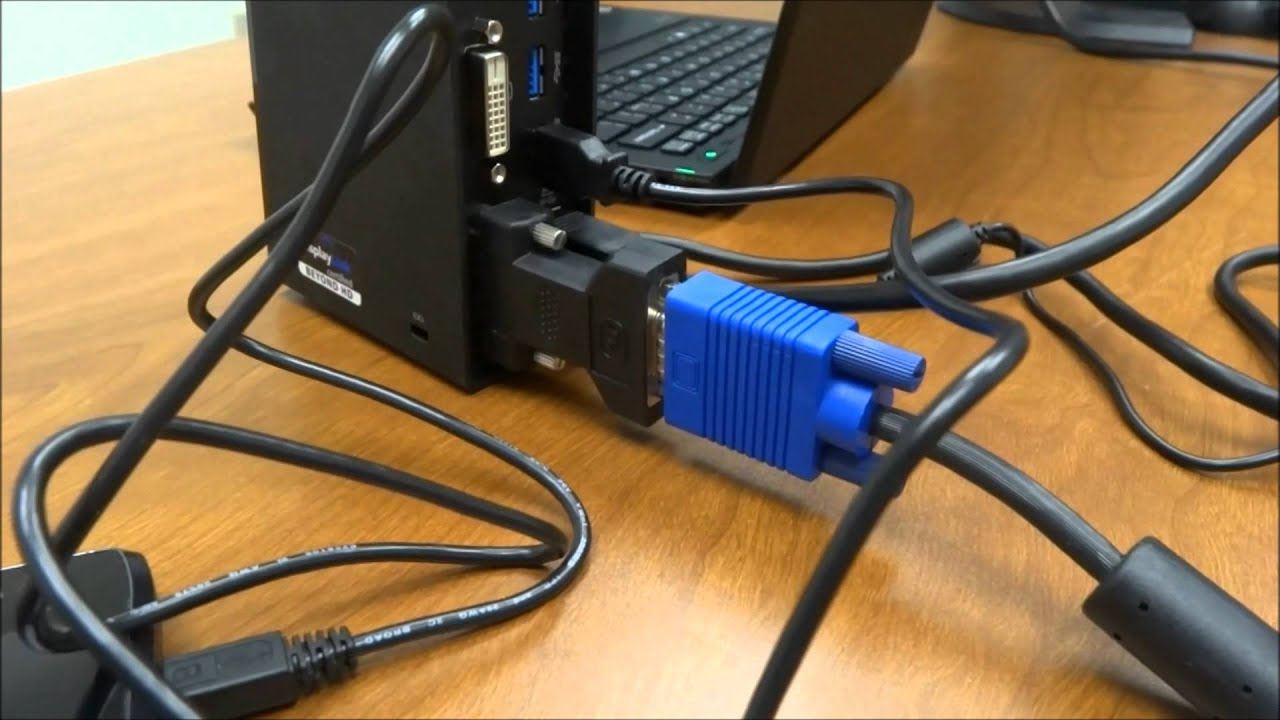 For Laptop Monitor Wiring Diagram Lenovo Thinkpad Usb 3 0 Dock With Dual Video Review Youtube