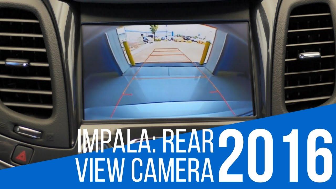 2016 Chevrolet Impala: Rear View Camera - YouTube