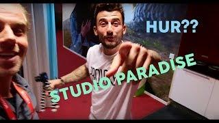 INSPELNING AV STUDIO PARADISE | ROBIN MOS MINI VLOG 1