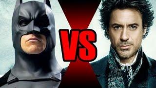 BATMAN VS SHERLOCK HOLMES | Batalha Mortal | Ei Nerd