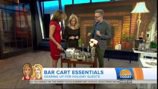 Today 11/23/14: Eddie Ross Talks Bar Cart Essentials