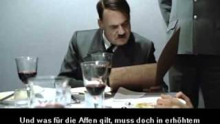 Downfall scenes (original German subtitles)