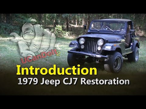 CJ7 Build Introduction | Project Rowdy Ep001