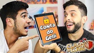 INVADI A CONTA DO GELLI E TROLLEI ELE NO CLASH OF CLANS!