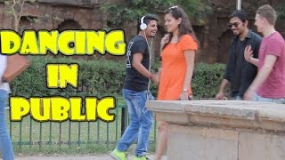 DANCING IN PUBLIC - PRANK | BHOJHPURI SONG | Pr...