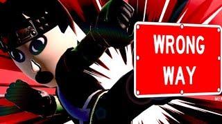 WRONG WAY || Super Smash Bros Ultimate #5 LIVE