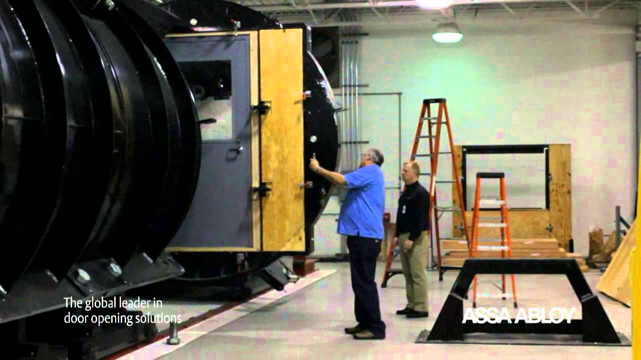 Testing Blast and Pressure Resistant Doors and Frames from Ceco Door - YouTube & Testing Blast and Pressure Resistant Doors and Frames from Ceco Door ...