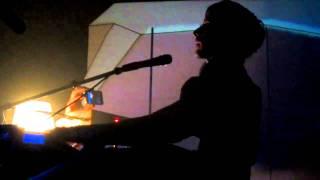 "IAMX live - Chris Corner sings :"" I salute you Christopher""-18.03.11@ Esch-sur-Alzette;Luxembourg"