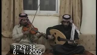 جلسه عود عبدالله رمضان #\يسعدوه على الكمان مداد الخوي ابو انور الحريجي
