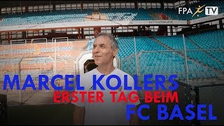 FPA EXKLUSIV: Marcel Kollers erster Tag beim FC Basel