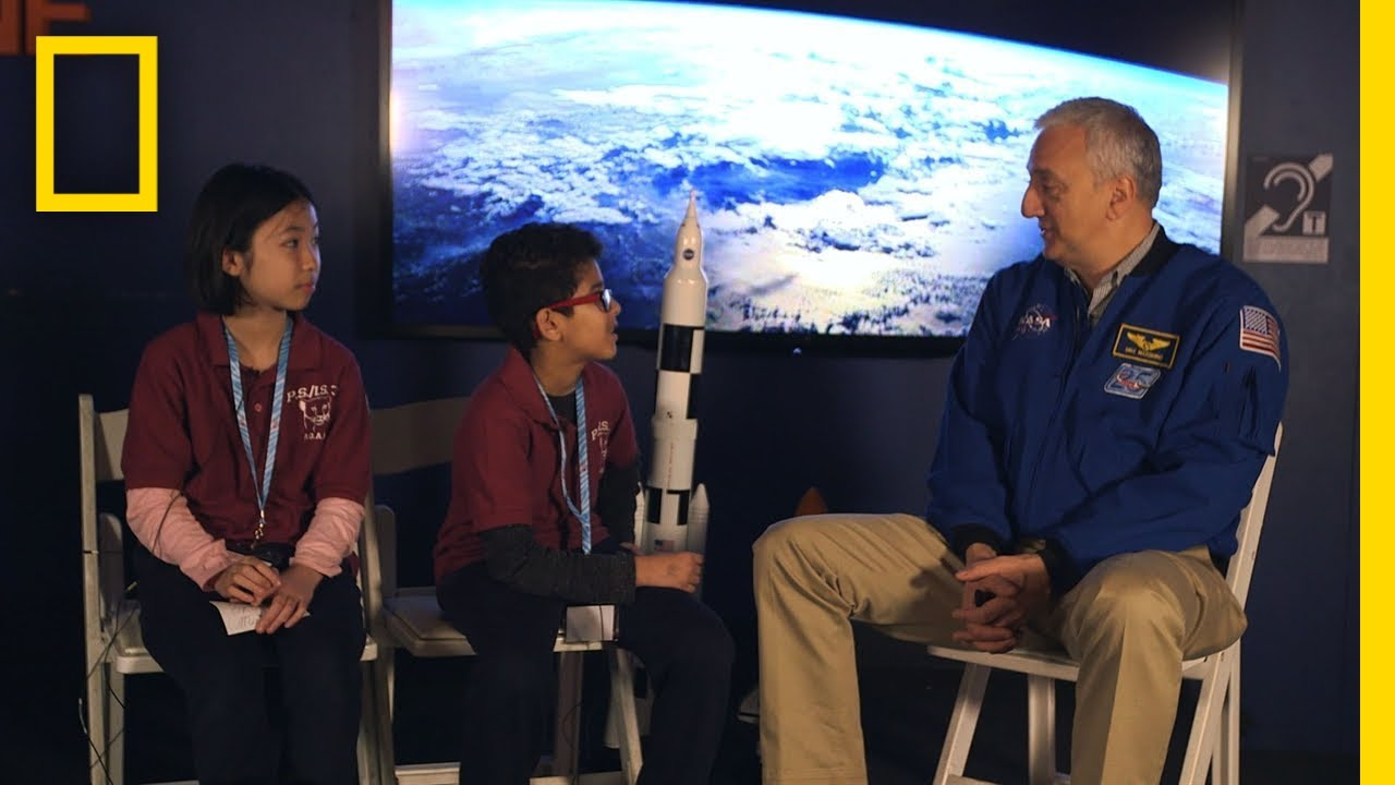Astronaut Mike Massimino Talks with Kids | One Strange Rock