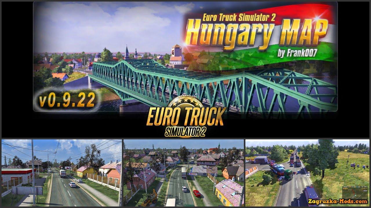 euro truck simulator 2 magyarország térkép letöltés Euro Truck Simulator 2 Hungary MAP / Magyar MAP by Frank007  euro truck simulator 2 magyarország térkép letöltés