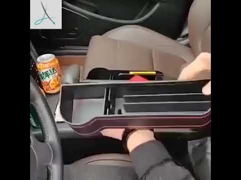 Multifunctional Car Seat Organizer - Cup Holder Storage Box