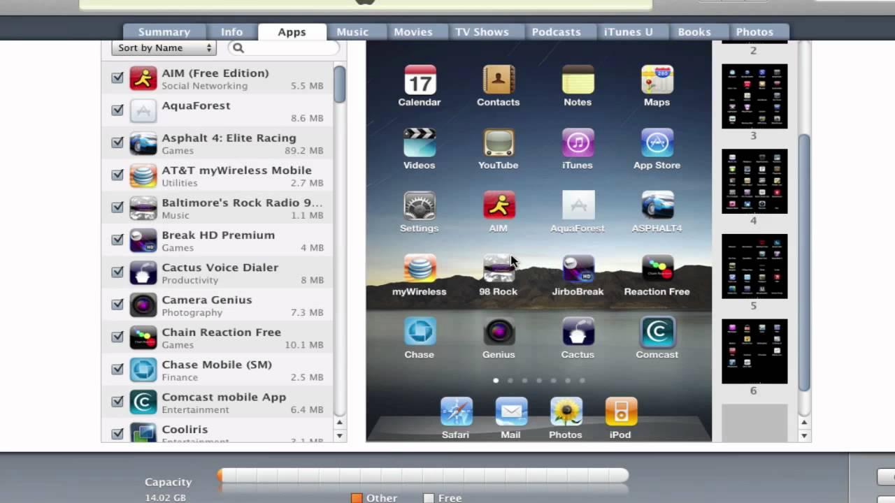 iPad iTunes Setup and iPad Features