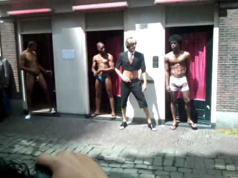 Bruno Opens Pink Light District In Amsterdam