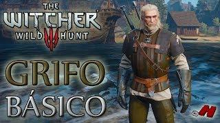 The Witcher 3 Wild Hunt - Equipamentos da Escola do Grifo Básico (Localização dos Diagramas)
