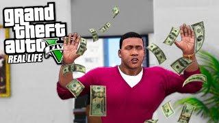 РЕАЛЬНЕ ЖИТТЯ В GTA 5 #6 - ПІДНЯВ 1.000.000$ НА БИТКОИНЕ! КУПУЮ ОФІС!