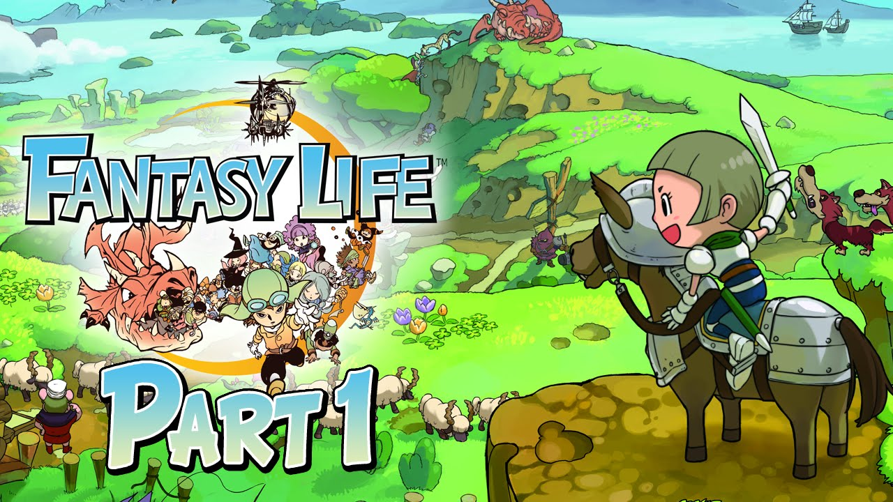 Fantasy Life Part 1 Let S Play Ger Youtube