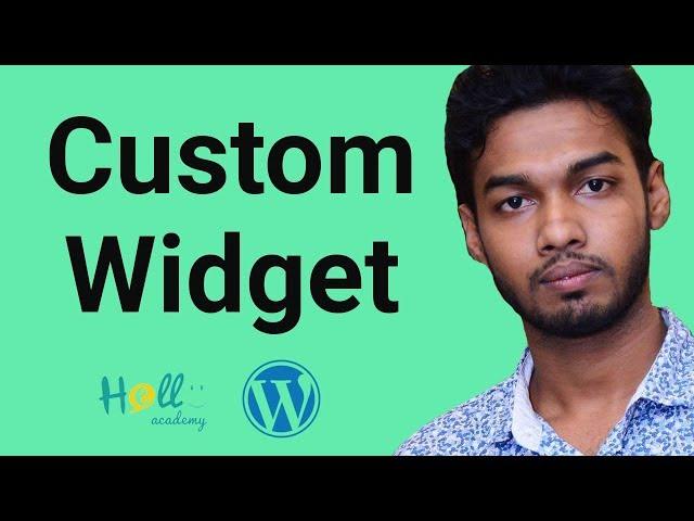 WordPress Theme Development Part 15(create custom widget)