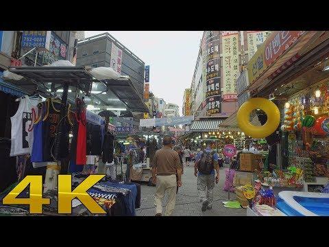 Walking around Namdaemun Marke, ナムデムン南大门市场 Seoul Korean 4K
