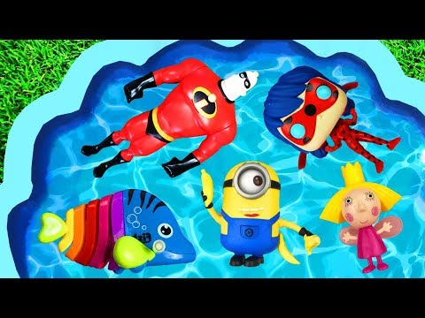 Learn Characters with Pj Masks, Paw Patrol, Barbie, Super Heroes, Finding Dory, Disney Princesses