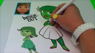 HOW TO BASIC - COLOUR DISGUST, FROM DISNEY PIXAR INSIDE OUT FILM !