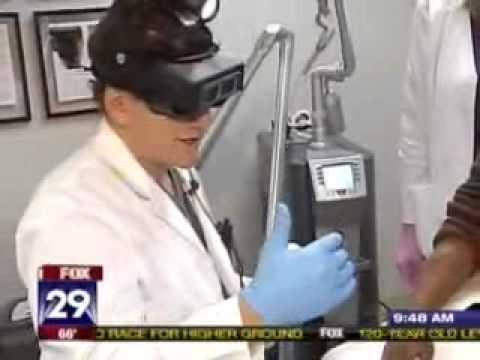 Laser Tattoo Removal Demonstrated on Philadelphia News