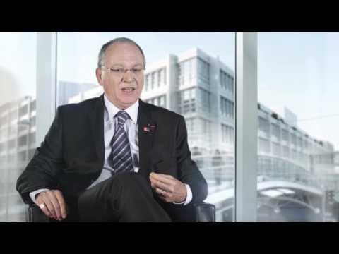 Benoît Battistelli, Président de l'OEB, au sujet du rapport annuel 2014