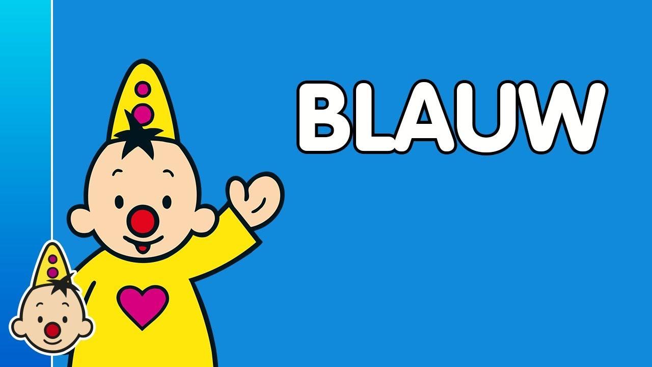 Blauw Leren Met Bumba
