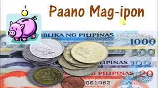 Paano Mag Ipon (How to save money in Filipino)