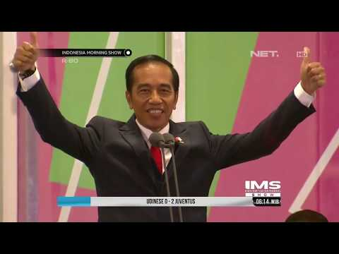 Presiden Jokowi Mengunakan Bahasa Isyarat Saat Pidato Pembukaan Asian Para Games 2018 - IMS