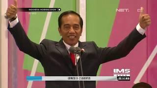 Download Video Presiden Jokowi Mengunakan Bahasa Isyarat Saat Pidato Pembukaan Asian Para Games 2018 - IMS MP3 3GP MP4