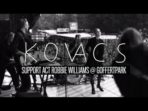 Aftermovie Kovacs – Support Act Robbie Williams @ Goffertpark (Nijmegen)