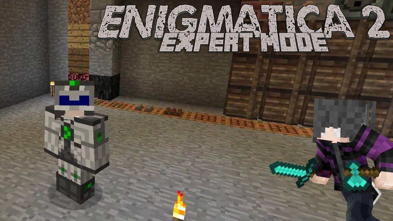 Enigmatica 2: Expert   Episode 7   Better Storage