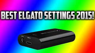 Best Elgato Game Capture HD Settings For Good Quality! (Elgato NO LAG FIX) Tips & Tricks!