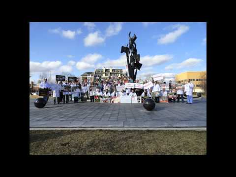 Michigan: Doctors Silent Stand For Syria