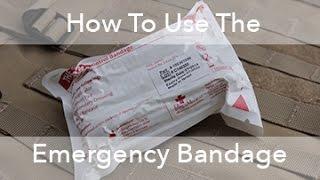 How to Use The Israeli (Emergency) Bandage