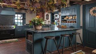 видео Стиль кантри в интерьере кухни