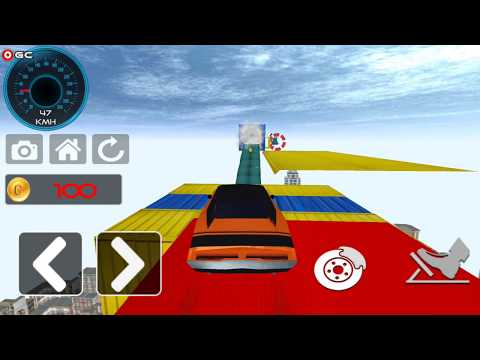 Impossible Track Drive Simulator / Impossible Car Drift Racing Game / Android Gameplay FHD #3