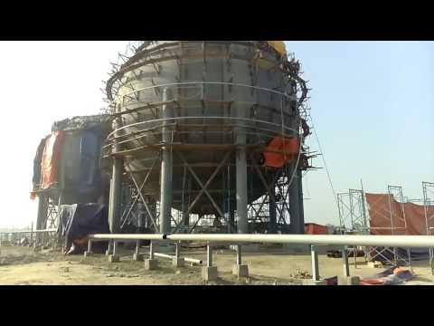 LPG plant construction Process