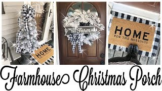 DIY Christmas Tree Topiary & PORCH TOUR