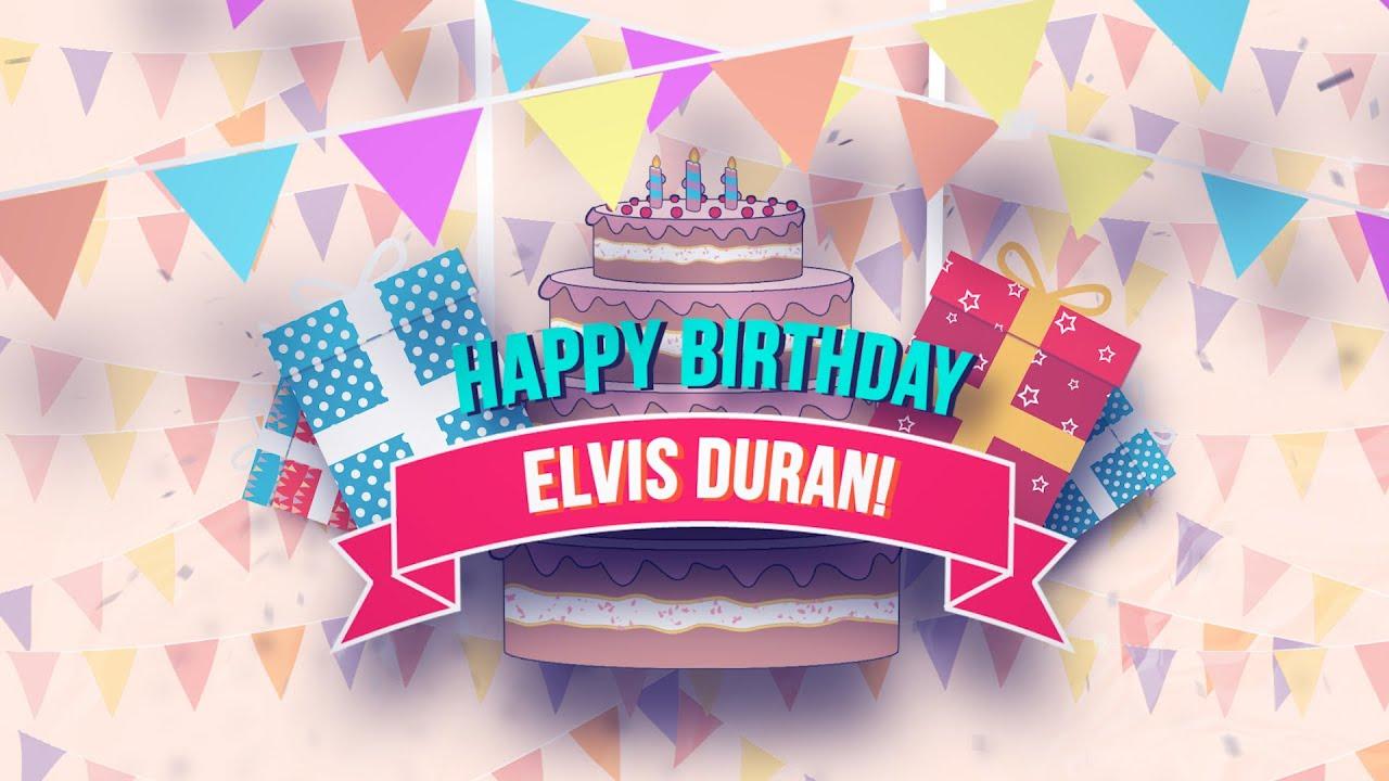 Happy Birthday Elvis Duran!   Elvis Duran Exclusive