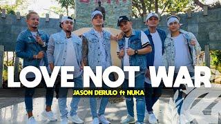 LOVE NOT WAR by Jason Derulo | Zumba | TML Crew Kramer Pastrana