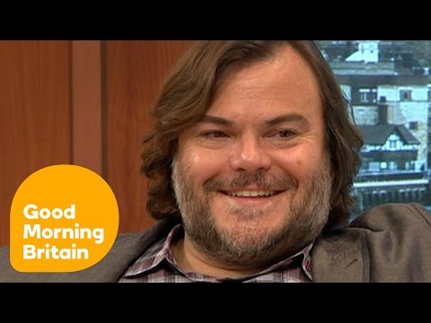 Jack Black's Kids Are Embarrassed By Him! | Good Morning Britain